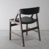 Soft Leather Seat를 가진 나무로 되는 Furniture Classical Style Dining Chair