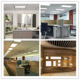 luz de techo casera de interior del panel del cuadrado 48W LED de la iluminación de la oficina de 600X600m m