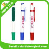 Logo personnalisé annonçant le crayon lecteur en plastique de pointe de cliquetis (SLF-PP028)