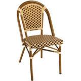 Французский стул кафа бистро, стул кофеего ротанга отдыха (BC-08001)