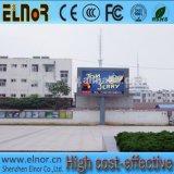 Scheda di schermo esterna impermeabile di alta qualità P6 LED