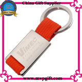 Metall Blank Key Chain mit Print Logo