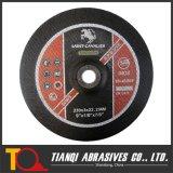 Inox 230X3X22.2 T41A를 위한 편평한 절단 바퀴