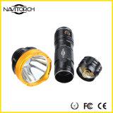 Linterna duradera recargable del tiempo de Osnam LED 200lm (NK-2664)
