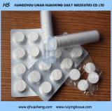 Ткань Fe006 таблетки хлопка Compressed