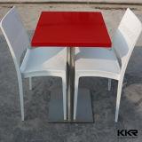 대중음식점 가구 돌 백색 식탁 및 의자