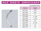 Rigid/IMC 90 Radius-Krümmer-Stahl