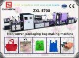 Fabricante reutilizable no tejido automático lleno del bolso de la tela (ZXL-E700)