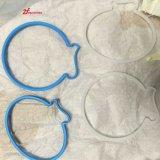 Peça de borracha personalizada do molde do silicone barato da carcaça de vácuo na fábrica de China