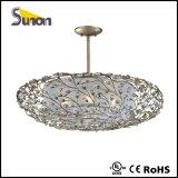 Luz branca /Foryers do pendente da tela de cristal luxuosa de Comtempary com UL