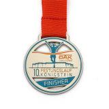 カスタムエナメルの銅5kのマラソンメダル