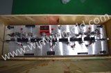 Большое стопорное устройство автомобильных деталей проверяя приспособление с индикатором для того чтобы измерить изменения длины части