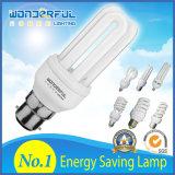 D'éclairage économiseur d'énergie spiralé économiseur d'énergie en gros CFL de lotus d'ampoule du tube 2u/3u/4u lampe/T3/T4/T5 plein demi DEL d'usine