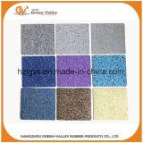 esteras de goma coloridas del suelo de los 60X60cm que se enclavijan para Crossfit