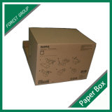 손잡이 (FP8039127)를 가진 Kraft 기록 보관소 상자에 의하여 붙어 있는 뚜껑