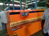 QC12y-6*3200 máquina de corte hidráulica, máquina de corte do feixe do balanço do metal de folha