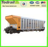 Vagone senza coperchio del trasporto del carbone d'acciaio della vasca di C64k, automobile senza coperchio del vagone, vagone del trasporto