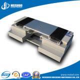 Aluminio arquitectónico de expansión de la placa cubierta de junta con el sello durómetro dual