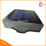 أضواء الشمسية 30 أدى الجدار الخفيفة في الهواء الطلق الأمن الإضاءة الليل مع جهاز استشعار الحركة الكاشف مصباح للحديقة سياج باب يارد