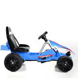 Elettrico Guidare-sul giocattolo Kart Automobile-Blu (due batteria dei bambini del motore due)