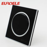 Black Electrical 250V / 13A 86 * 86 * 37mm Prise USB Prise murale