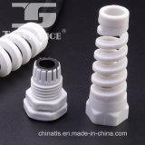 Type spiralé en plastique de page de presse-étoupe de câble de prix usine