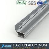 Profil en aluminium personnalisé de l'Algérie Afrique de couleur de taille pour la porte de guichet