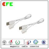 2pin 착용할 수 있는 제품 자석 케이블 연결관 공급자