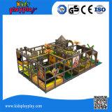 ティーネージャーの子供のプラスチックスライドの屋内/Preschool装置のための大きいプレイハウス
