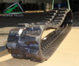 (300X52.5W)掘削機はゴム製トラックを追跡する