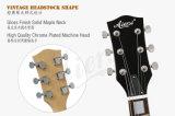 Guitare semi creuse de jazz de corps de type de l'érable 335 de Spalted de marque d'Aiersi