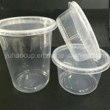 PPのふたが付いている使い捨て可能な円形のプラスチック食糧デリカテッセンの容器