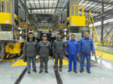 Système de production de robots pour la ligne de production de l'industrie automobile