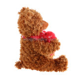 Wholesale Custom Plush teddy Bears for halls poison Valentine with Emoji Heart