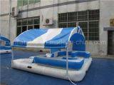 Console de flutuação inflável da classe comercial, arrendamento do parque da água