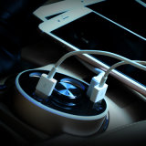多機能車の充満カップ・ホルダー- 2ポートUSB (3.1A)車の充電器-多機能USB車の充電器