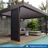 Sistema Louvered impermeable motorizado del patio de la azotea