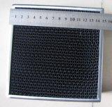 Elemento portante di catalizzatore metallico del favo per il motociclo