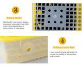 Los mejores incubadora solar del pollo de la incubadora 48 automáticos del huevo del precio