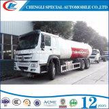 Cyliner 충전물을%s ASME 표준 6t 12 Cbm LPG 납품 자른 꼬리 트럭