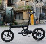Ein Sekunden-faltendes Fahrrad mit Aluminiumlegierung-faltendem Rahmen