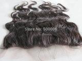 chiusura brasiliana del merletto dei capelli umani dei capelli del Virgin della chiusura del merletto di 4 ' *4'