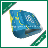 Напечатанная таможней оптовая продажа коробки ботинка каннелюры (FP02000045)