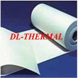 Papel de tejido soluble en agua refractario del equipo industrial del papel de fibra de cerámica del aislante
