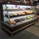 Frigorifero di verdure commerciale del fronte aperto facoltativo di colore per il supermercato
