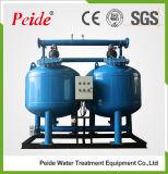 De Ondiepe Middelgrote Filter van het Koolstofstaal voor de Industriële Behandeling van het Water
