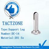 Нога самого лучшего вспомогательного оборудования перегородки кабины туалета надувательства установленная стальная регулируемая