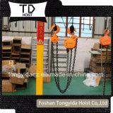 Bloque de polea de cadena vital/torno del alzamiento manual del alzamiento de cadena/de la elevación/de la mano