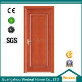 Porte en bois de forces de défense principale de porte intérieure de porte de PVC pour la chambre à coucher d'hôtel