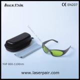 Длина волны предохранения от стекел предохранения от глаза Goggles/предохранения от лазера Yhp: O. 800-1100nm D5+ + O. 1060-1070 D7+ для лазеров волокна с рамкой 55